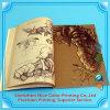 Aletta di filatoio manuale dell'opuscolo del libretto rilegato del catalogo di Pefect di stampa dell'oro dell'opuscolo