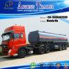52000 litri del combustibile dell'autocisterna di rimorchio semi, petroliera