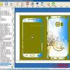 Daqin Design Software für Mobiltelefon Stciker