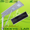 lista de precios solar integrada de la luz de calle de 25W LED para al aire libre