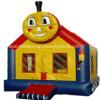 Casa inflável do salto do trem de Thomas