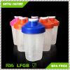 400ml BPA освобождают бутылку трасучки протеина чашки трасучки пластичную