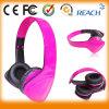 Cuffia ad alta fedeltà stereo di colore rosa di vendita del bimbetto
