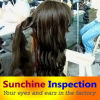 Shandong, Zhejiang, 광저우, Hunan, 상해에 있는 레이스 Wig Quality Inspection