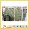 Countertop 또는 Vanitytop (YQC)를 위한 Polished Natural Stone Green Onyx Marble Slabs