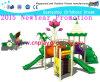 Outdoor Lotus Jogos para Crianças Totalmente Plastic Playground Outdoor (M11-01002)