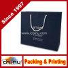 Мешок изготовленный на заказ белого с Рождеством Христовым корабля Kraft бумажный (5111)