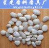 طبيعيّة مستديرة حجارة ثلج صانية بيضاء حصاة [بفيمغ] حجارة