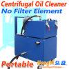 Filtro de óleo centrífugo portátil de Hongyi para a limpeza do óleo da indústria