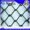 Rete fissa rivestita di collegamento Chain della rete metallica del ferro del PVC