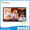 Video dell'annuncio dell'affissione a cristalli liquidi dello schermo largo 27 pollici con la scheda di deviazione standard del USB (MW-271ABS)