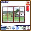 Portes coulissantes en verre simples des prix bon marché et doubles en aluminium