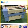 Paño de cuero de acrílico de madera de la tela del cortador Dek-9060 del laser del CNC de la mesa