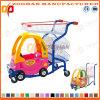 Chariot en plastique à caddie de supermarché avec le véhicule de jouet (Zht52)