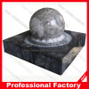 Выполненный на заказ естественный каменный напольный фонтан воды шарика завальцовки
