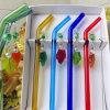 Het Drinken van het Glas van het Vaatwerk van de Staaf van het Restaurant van Pasen het Multi Gekleurde Met de hand gemaakte Stro van de Kromming van het Stro Milieuvriendelijke Onschadelijke