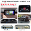 Interfaz video de los multimedia 8GB del coche HD de la navegación androide de destello del GPS para el soporte Bt/WiFi/Mirrorlink de 14-16 Mazda Cx-9