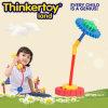 A engrenagem modelo do guarda-chuva obstrui o brinquedo da instrução dos brinquedos para crianças
