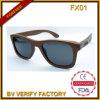 A melhor coleção Fx01 de venda da forma Sunglass de madeira
