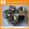 Acero inoxidable 304 316 tuercas Hex