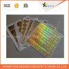 Autenticidad del holograma de encargo impresión de seguridad 3D Etiqueta
