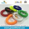 Кольцо катушки W/Key запястья руки Multicolors эластичного выдвиженческого подарка пластичное