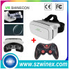 Vr Shinecon Virtual Reality 3D Glasses + Bluetooth Joystick