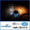 Comitato chiaro solare 2016 per il giardino per il tipo d'attaccatura solare colore della lampada che cambia l'indicatore luminoso solare di vetro libero del vaso, 2 in 1