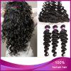 Afrouxar o cabelo humano do Frontal 100% do laço da onda 13*4