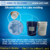 Baking Cake Moldのための食糧Grade Platinum Cure Silicone