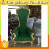 Usine directement faite en cuir blanc de la Chine dinant la chaise