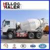 Caminhão do misturador concreto do transporte do cimento de HOWO (movimentação da mão esquerda)