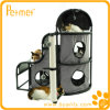 Роскошный Cat House Climbing Tower Hideaway с Toy Ball (PT58015G)