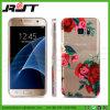 Caja impresa aduana del teléfono celular de TPU para la galaxia S7 de Samsung