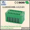 Connettore Pluggable dei blocchetti terminali Ll2edgvhm-3.5/3.81