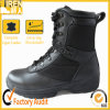 2017熱い様式の高品質の黒の革軍の戦闘用ブーツ