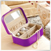 PU Leather Hot Sale Antique Jewelry Box mit Ring Earring