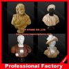 Cinzeladura de pedra da cabeça de mármore tamanho real da escultura da cabeça da estátua da falência