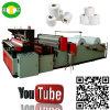 Auto preço de alta velocidade da máquina do tecido de toalete do rebobinamento