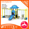 Сад Swing Metal Swing Sets Outdoor малышей с Slides