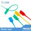 Wegwerfbares Security Plastic Seal mit Code und Logo (YL-S290)
