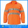 도매 높은 시정 주황색 사려깊은 안전에 의하여 배출되는 Mens 셔츠