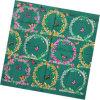 Sciarpa della signora Fashion Printed Square Silk (HC040-1)