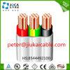 Плоский термопластиковый обшитый PVC кабель провода TPS