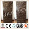 Negro de la suerte del oro de Qingdao/construcción impermeable Formply de Brown
