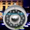 Luz al aire libre 18W, luz del anillo de las fuentes de agua de DMX LED de la fuente del anillo del poder más elevado 18W
