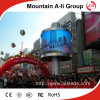 P10 Cylindrical Full Color LED Screen per 360 Advertizing