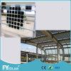 El panel solar de cristal transparente para el proyecto de la azotea y de la pared