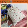 Handmade мешок Drawstring джута хлопка