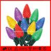 Свет шнура клубники света цветастый СИД C9 праздника света украшения рождества